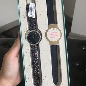 NWT Kate Spade Glitter Watch